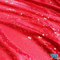 Alkalmi anyag flitteres holo egyszínű 95% poliészter 5% elasztán, 130 cm széles