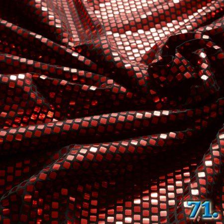 Foil flitteres kötött kelme (Lamé kelme) ,100% poliészter szélesség:150cm