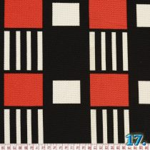 KNITTED FABRIC SHV70979-2 95%POLYESTER 5% VISCOSE WIDTH:150CM (ABSTRACT DESIGN)