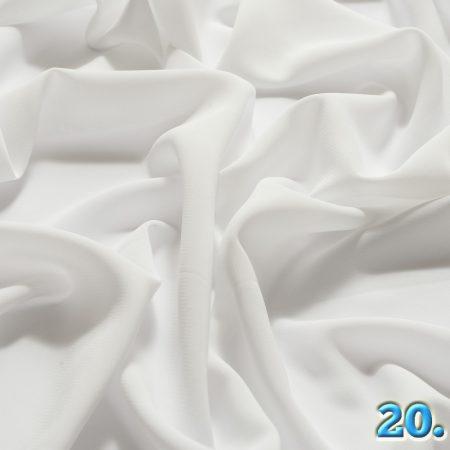 Muszlin elasztikus 97% poliészter 3% elasztán(spandex), szélesség:150cm (válasszon színt a legördülő menüben)