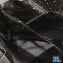 ORGANDY WITH BEAD (ORGANZA KÖVES) 100% POLYESTER, WIDTH:150CM
