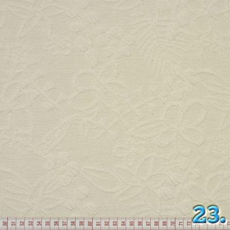 PONTI ROMA DES. CREME, 76,5% POLYESTER 22% VISCOSE 1,5% ELASTHANE, WIDTH:127CM, KNITTED FABRIC